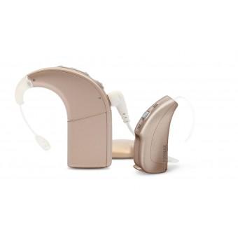 Слуховой аппарат Phonak Naida Q30 мощный.