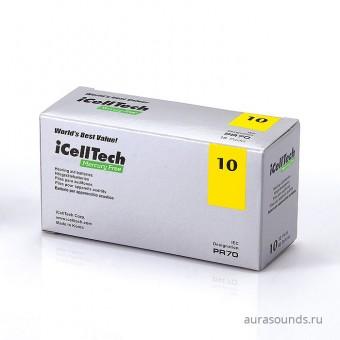 Батарейки для слуховых аппаратов iCellTech 10 (PR70), упаковка (60 батареек)
