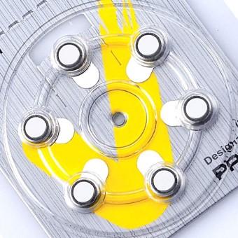 iCellTech 10 (PR70) батарейки для слуховых аппаратов, 1 блистер (6 батареек)