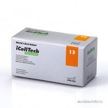Батарейки iCellTech 13 (PR48) для слуховых аппаратов, упаковка (60 батареек)