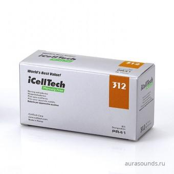 iCellTech 312 (PR41) батарейки для слуховых аппаратов, упаковка (60 батареек)