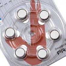 Батарейки iCellTech 312 (PR41) для слуховых аппаратов, упаковка (60 батареек)