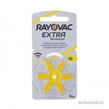 Батарейки Rayovac 10 (PR70) для слуховых аппаратов, упаковка (60 батареек).
