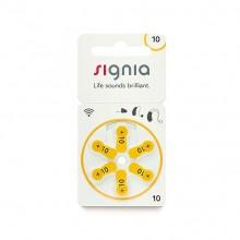Батарейки Signia 10 (PR70) для слуховых аппаратов, упаковка (60 батареек)