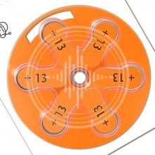 Батарейки Signia 13 (PR48) для слухового аппарата, 5 блистеров (30 батареек)