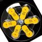 Батарейки Widex 10 (PR70) для слуховых аппаратов, 5 блистеров (30 батареек)
