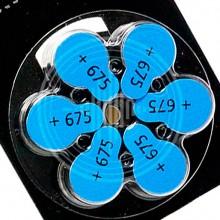 Widex 675 (PR44) батарейки для слуховых аппаратов, упаковка (60 батареек).